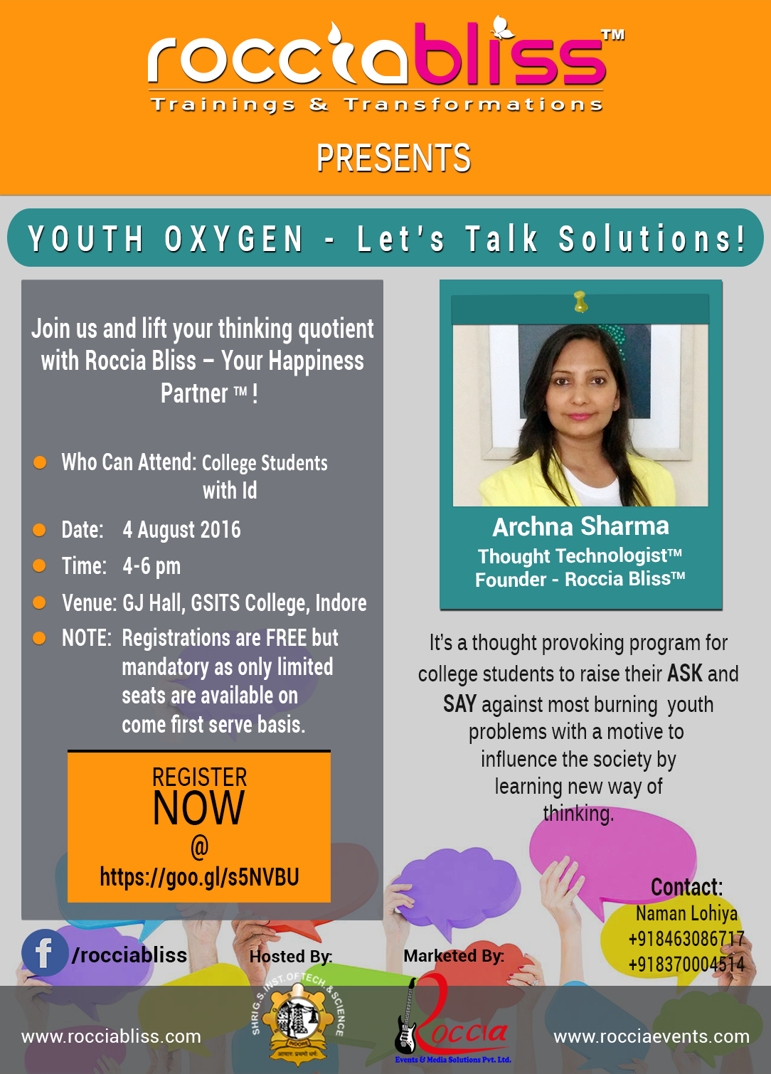 YOUTH OXYGEN - Let's Talk Solutions!